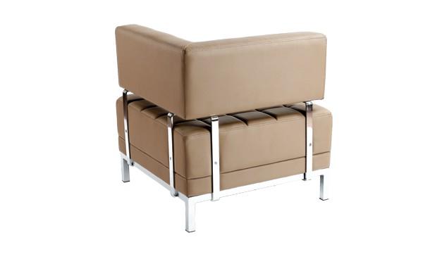 Location chauffeuse d 39 angle maleo ch taigne et fauteuils phiapa line - Chauffeuse simili cuir ...