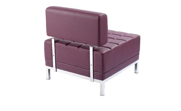 Location chauffeuse maleo prune et fauteuils phiapa line - Chauffeuse simili cuir ...