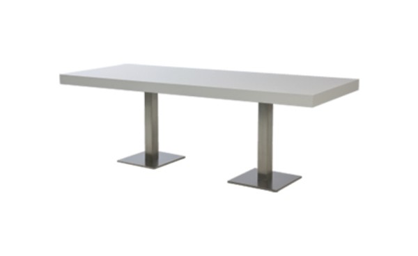 Location table scala blanc rectangulaire et tables standard phiapa line Location table rectangulaire