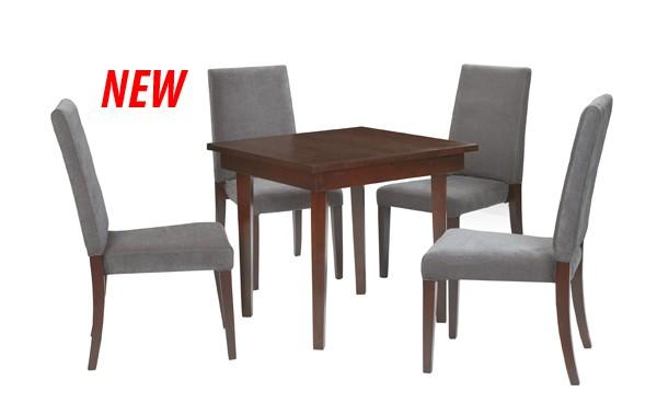 Location ensemble chaises sofia gris table sofia et for Table 52 location