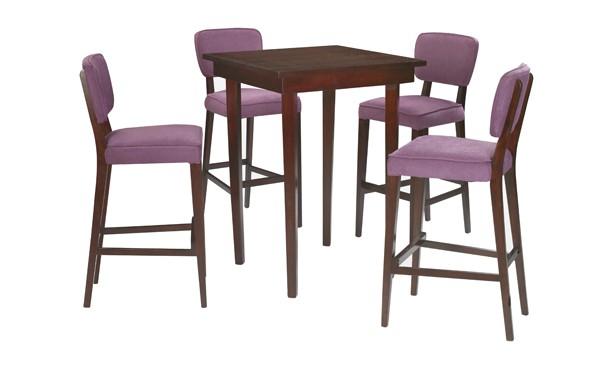 Location ensemble tabourets sofia violet table haute sofia et haut - Ensemble table haute et tabouret ...