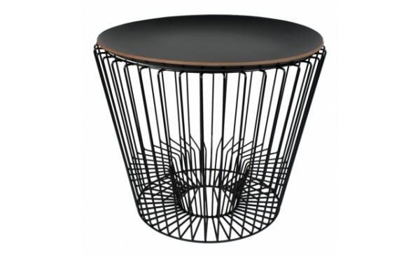 location table basse penelope plateau noir et tables basses phiapa line. Black Bedroom Furniture Sets. Home Design Ideas
