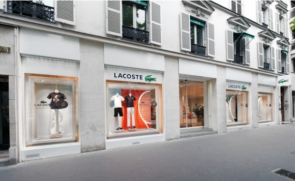magasin lacoste paris. Black Bedroom Furniture Sets. Home Design Ideas