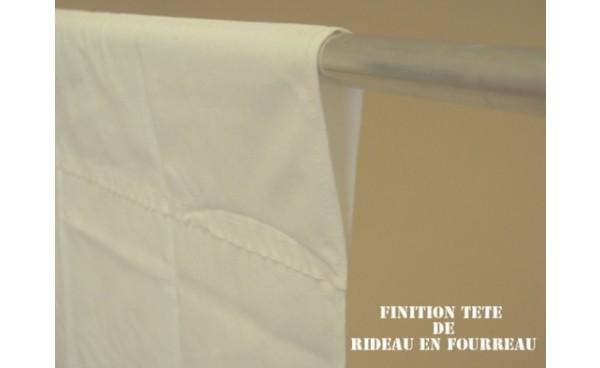 rideau en fourreau et confection de t tes de rideaux d co fil. Black Bedroom Furniture Sets. Home Design Ideas