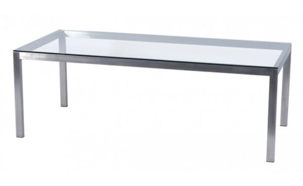 location table linea verre clair et tables standard. Black Bedroom Furniture Sets. Home Design Ideas