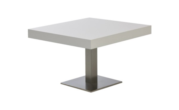 Location Table Lounge Scala Blanc Carree Et Tables Basses