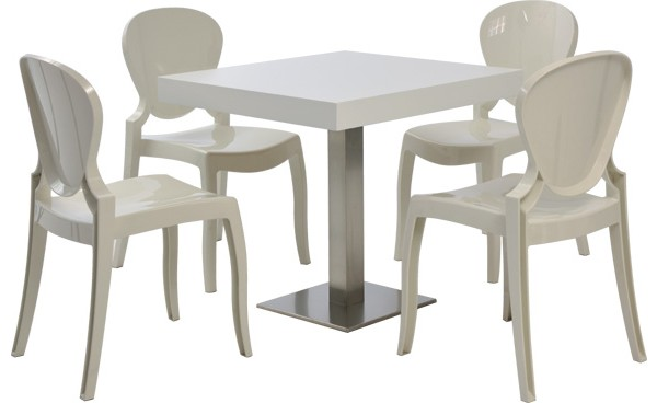 location ensemble chaises queen - blanc & table scala - blanc et ... - Location De Table Et Chaises