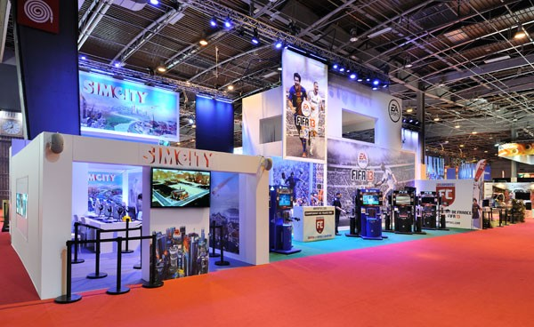 Populaire Stand EA - Paris Games Week | Stand individuel | Art-Event JV68