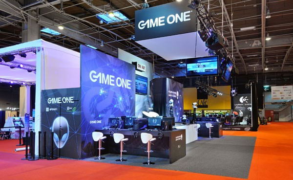 Stand game one salon paris games week 2012 stand for Salon a paris ce weekend