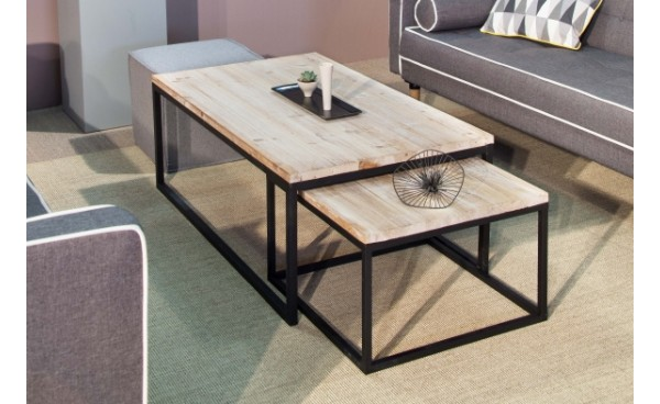 Location table basse cleveland et tables basses phiapa line for Table basse noir et bois