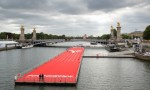 journees Olympiques - Paris - piste flottante design ubi bene - habillage art event group - constructeurs d'evenements