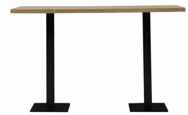 location mange debout scala bois rectangulaire noir et mange debout phiapa line. Black Bedroom Furniture Sets. Home Design Ideas