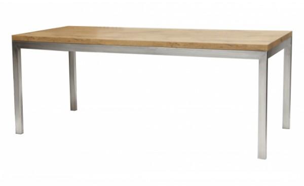 Location Table Linea Plateau Bois Inox Et Tables Standard