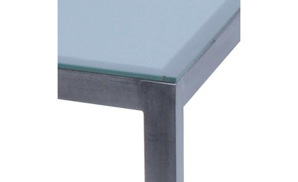 Location table linea verre d poli et tables standard - Plateau verre pour table ...