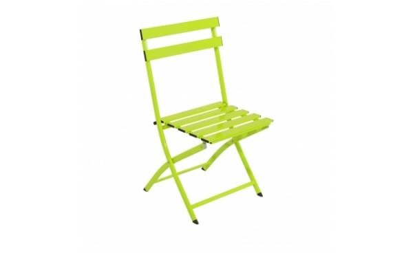 Location Chaise BRAGA - Vert anis et Mobilier de jardin ...