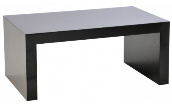 Location table basse rione 100x60 noir et tables basses for Table th 100