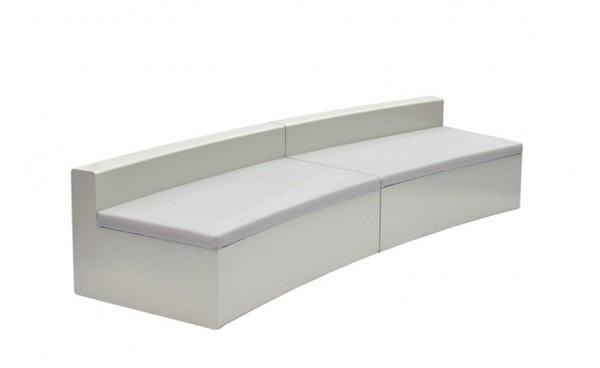 location banquette pezia courbe et canap s phiapa line. Black Bedroom Furniture Sets. Home Design Ideas