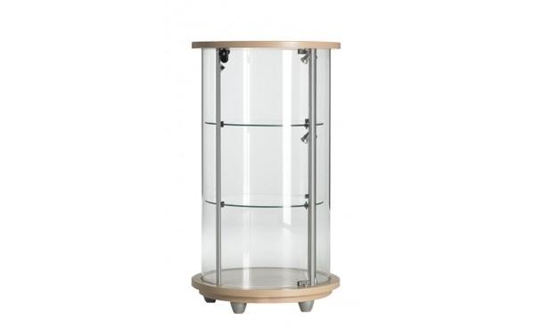 location vitrine celine bois et vitrines phiapa line. Black Bedroom Furniture Sets. Home Design Ideas