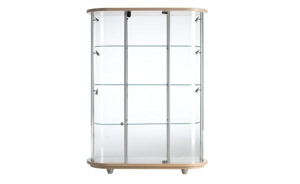 location vitrine elodie bois et vitrines phiapa line. Black Bedroom Furniture Sets. Home Design Ideas